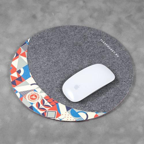 Коврик для мыши из фетра, полноцветная печать
