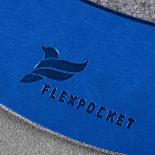 Коврик для мыши из фетра, цвет синий classic