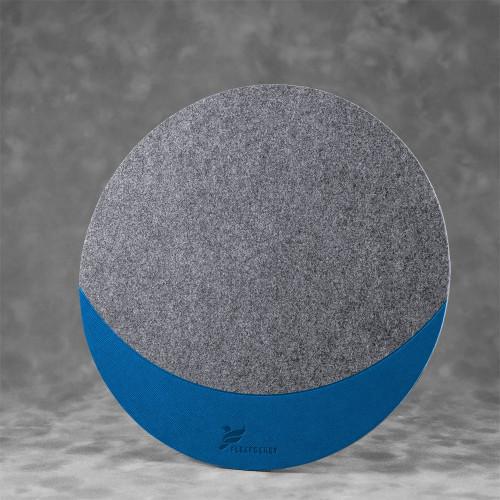 Коврик для мыши из фетра, цвет синий
