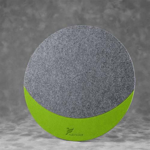 Коврик для мыши из фетра, цвет зеленый