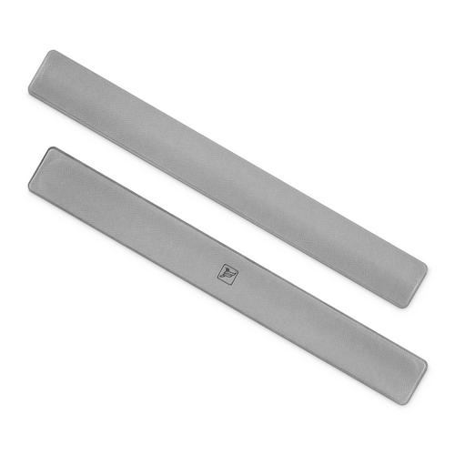 Slap-браслет, цвет светло-серый