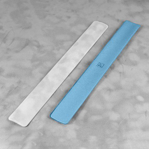 Slap-браслет, цвет голубой