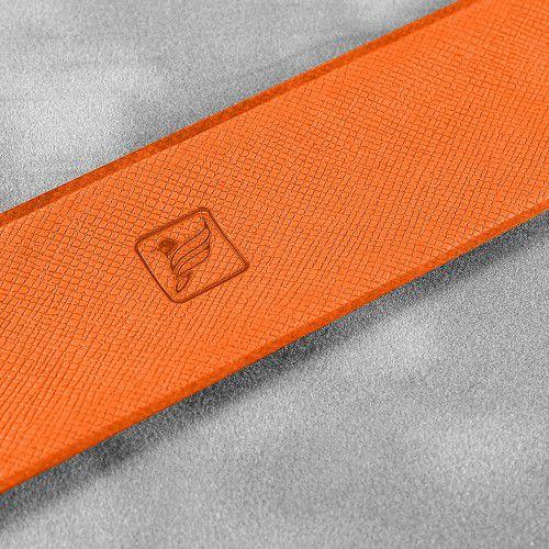 Slap-браслет, цвет оранжевый