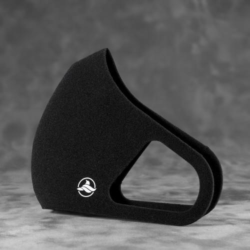Многоразовая маска для лица Aero Silver Mask - цвет черный
