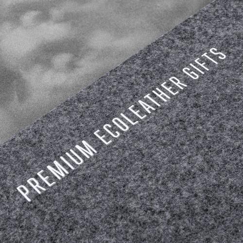 Настольный набор из фетра, цвет серый classic