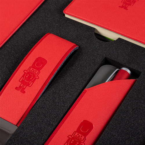 Подарочный набор Plastic Online, цвет красный