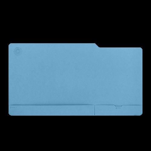 Настольный мат - большой, цвет голубой