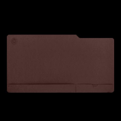 Настольный мат - большой, цвет коричневый