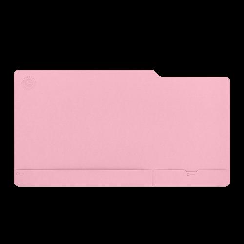 Настольный мат - большой, цвет розовый