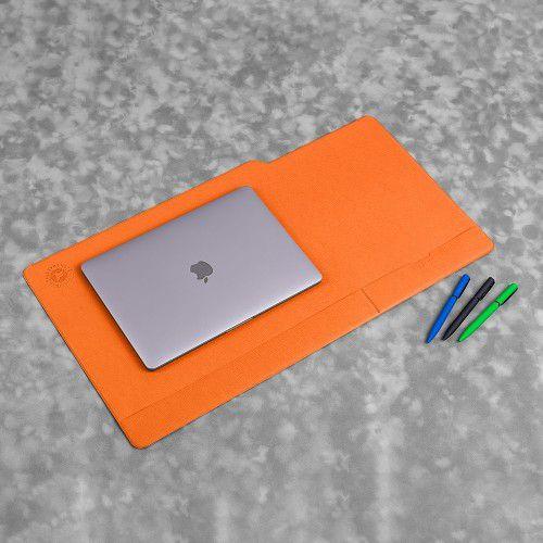 Настольный мат - большой, цвет оранжевый