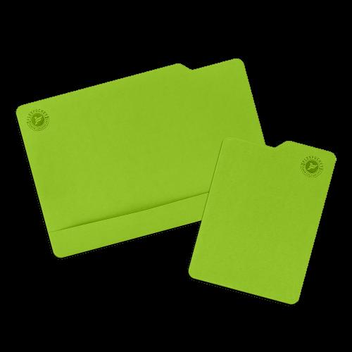Настольный мат с ковриком для мыши, цвет зеленый