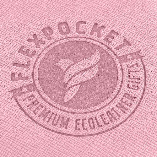 Настольный мат с ковриком для мыши, цвет розовый
