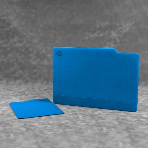 Настольный мат с ковриком для мыши, цвет синий
