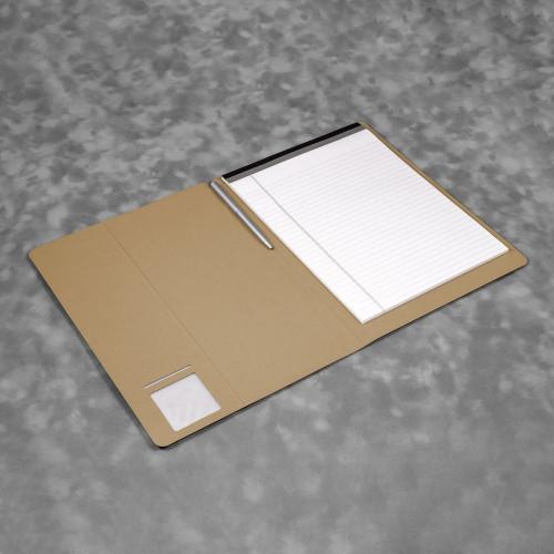 Блокнот-планшет А4 с обложкой, цвет бежевый