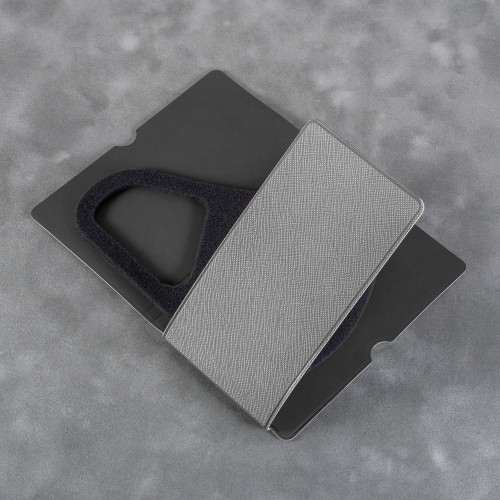 Чехол для многоразовой маски, цвет светло-серый
