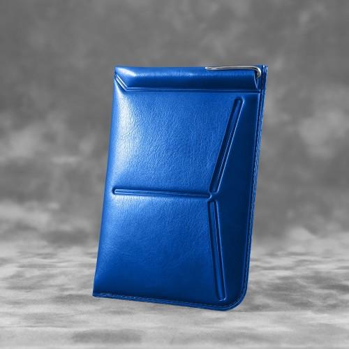 Обложка для паспорта - универсальная, цвет синий classic