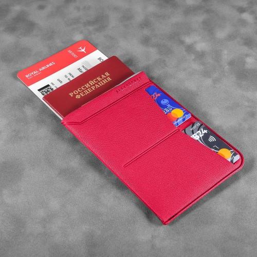 Обложка для паспорта - универсальная, цвет маджента