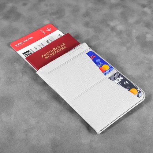 Обложка для паспорта - универсальная, цвет белый