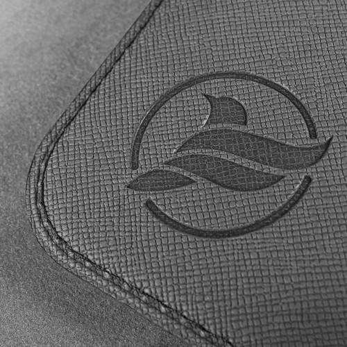 Обложка для паспорта - универсальная, цвет серый