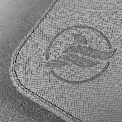 Обложка для паспорта - универсальная, цвет светло-серый