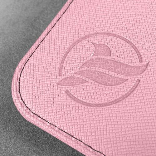 Обложка для паспорта - универсальная, цвет розовый