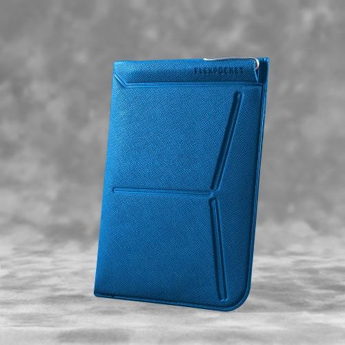 Обложка для паспорта - универсальная, цвет синий