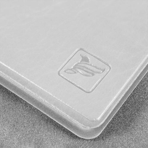 Обложка для удостоверения с карманом, цвет белый Сlassic