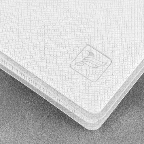 Обложка для удостоверения с карманом, цвет белый