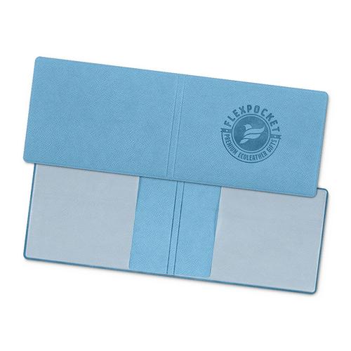 Обложка для удостоверения, цвет голубой
