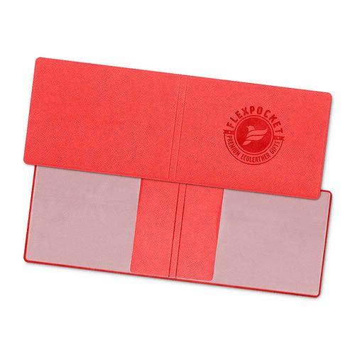 Обложка для удостоверения, цвет красный