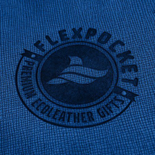 Обложка для удостоверения, цвет синий