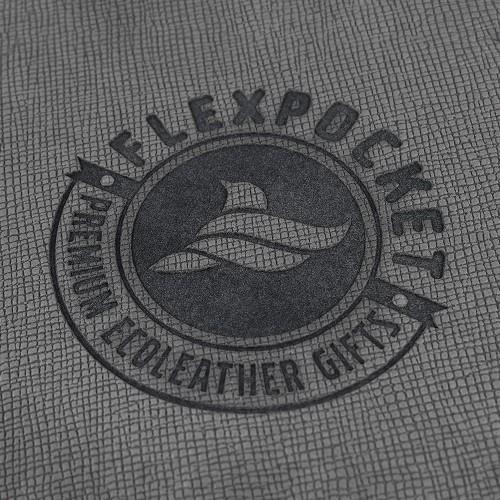 Обложка для удостоверения, цвет серый