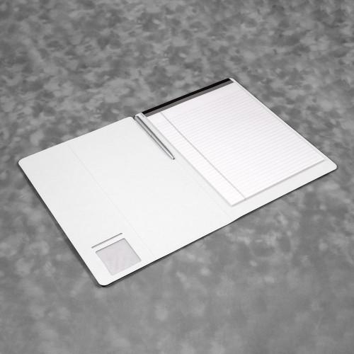 Блокнот-планшет А4 с обложкой, цвет белый