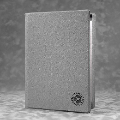 Блокнот-планшет А4 с обложкой, цвет светло-серый