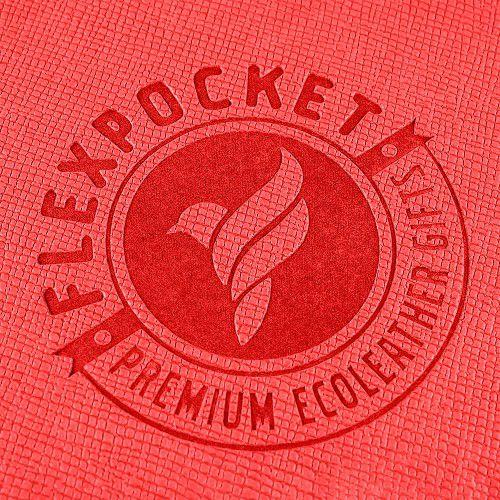 Блокнот-планшет А6 с обложкой, цвет красный
