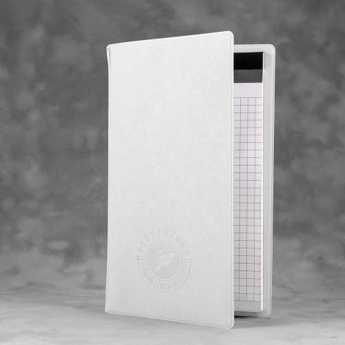 Блокнот-планшет А6 с обложкой, цвет белый