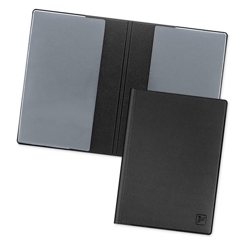 Обложка для паспорта - стандарт, цвет черный