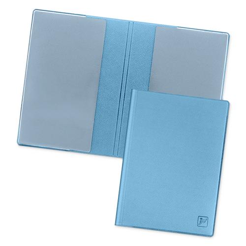 Обложка для паспорта - стандарт, цвет голубой