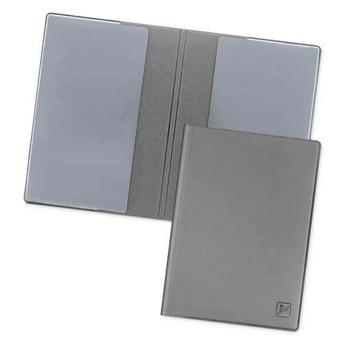 Обложка для паспорта - стандарт, цвет светло-серый