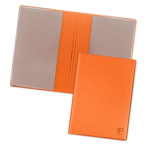 Обложка для паспорта - стандарт, цвет оранжевый