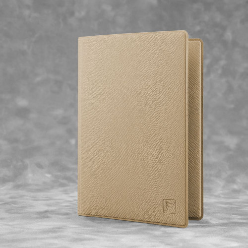 Обложка для паспорта - стандарт, цвет бежевый