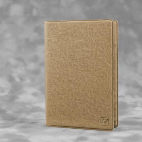 Обложка для паспорта с RFID-блокировкой, цвет бежевый