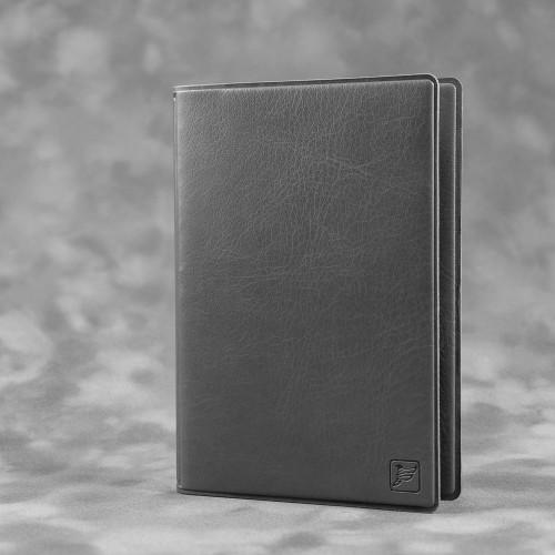 Обложка для паспорта с RFID-блокировкой, цвет серый classic