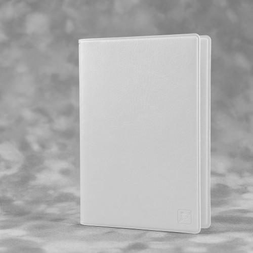 Обложка для паспорта с RFID-блокировкой, цвет белый classic
