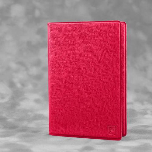 Обложка для паспорта с RFID-блокировкой, цвет маджента