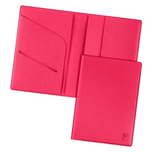 Обложка для паспорта - премиум, цвет маджента