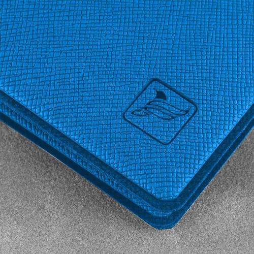Обложка для паспорта - премиум, цвет синий