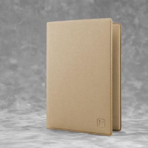 Обложка для паспорта - премиум, цвет бежевый