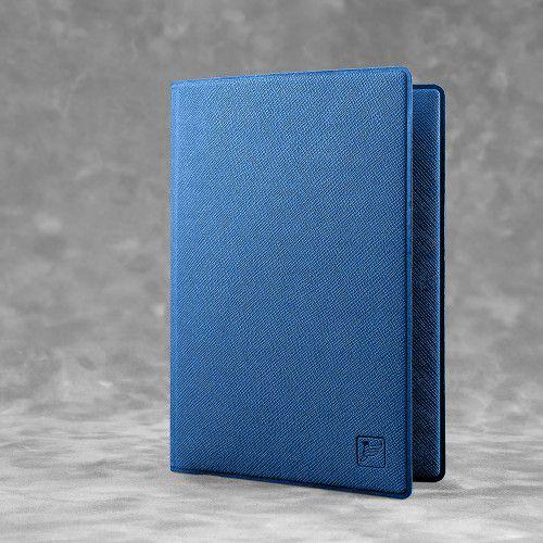 Обложка для паспорта - премиум, цвет темно-синий