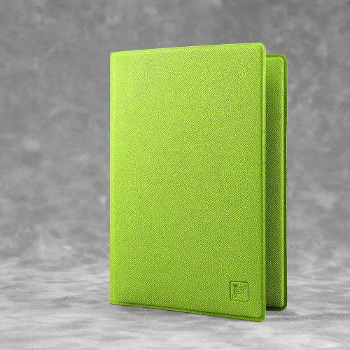 Обложка для паспорта - стандарт, цвет зеленый